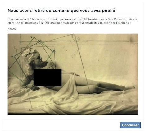 Facebook Censors Paris's Jeu de Paume, Threatens To Deactivate the Museum's Account | In the Air: Art News & Gossip | ARTINFO.com | Clic France | Scoop.it