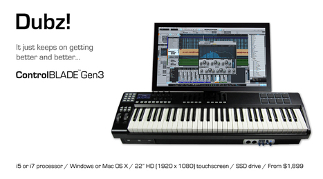 ControlBLADE Music Keyboard Production Workstations | Ambient and IDM meet here | Scoop.it