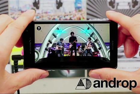 Des affiches de groupes musicaux qui permettent de visualiser un concert en réalité augmentée ! | Cabinet de curiosités numériques | Scoop.it