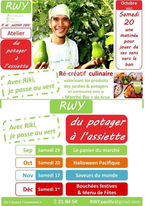 C'est la Ré-cré du potager à l'assiette d'OCTOBRE 2012 | Parent Autrement à Tahiti | Scoop.it