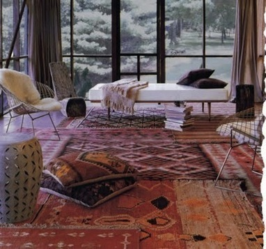 Design Trend: Layering Vintage Textiles | Home & Office Styling | Scoop.it