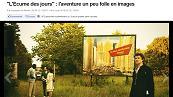 Les premières images de l'adaptation de L'écume des jours par Michel Gondry dévoilées | BiblioLivre | Scoop.it