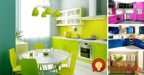 35 dôkazov, že farby kuchyni pristanú! | Domácnosť a bývanie | Scoop.it