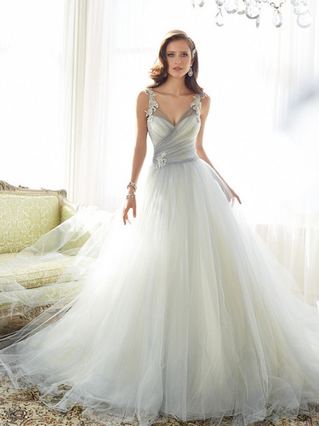 Unique Wedding Gowns by Sophia Tolli | ALL FOR FASHION DESIGN | Fashion | Scoop.it