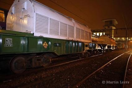 Transport radioactif en cours : Saluggia (It) - La Hague (Fr) - le petit train s'en va dans la campagne ....   Le Côté Obscur du Nucléaire Français   Scoop.it