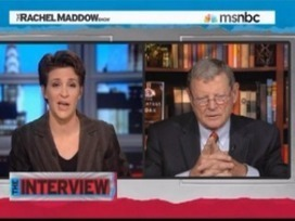 """Inhofe's Stunning Admission To Maddow on Global Warming: 'I Thought It Must Be True Until I Found Out What It Cost"""" 