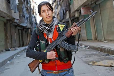 Rebellion unveiled: Kurdish women join war on Assad | Coveting Freedom | Scoop.it