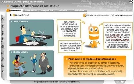 CRéATIF - Droit et EPN, le JEU ! | mutimedia culture et lien social | Scoop.it