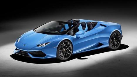 Lamborghini Huracan Spider, le plein de sensations   Luxe & Luxury   Scoop.it
