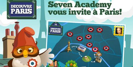 Une application enfant ludique pour découvrir Paris - App-Enfant.fr | FLE enfants | Scoop.it
