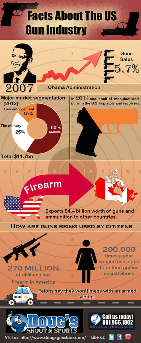 Facts About The US Gun Industry | Business | Scoop.it