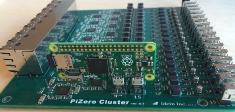 This is what a cluster board with 16 Raspberry Pi Zero's looks like   Raspberry Pi   Scoop.it