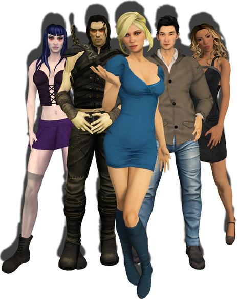 Nuevos avatares mesh en Second Life... nada mal para comenzar   Art, Science, Technologie et Mondes Virtuels   Scoop.it