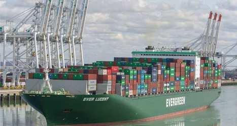 (76) Ports à conteneurs : la France occupe une place marginale en Europe | Les Echos | PSN - Filière Logistique-Portuaire | Scoop.it