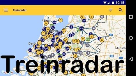 Edu-Curator: Treinradar(s): handige online realtime treinkaarten met actuele informatie | ICT Nieuws | Scoop.it