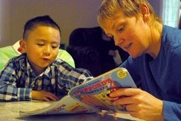 Study says reading aloud to children, more than talking, builds literacy | Cool School Ideas | Scoop.it
