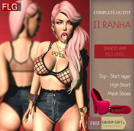 Piranha Full Outfit Group Gift by FLG Store | Teleport Hub - Second Life Freebies | Second Life Freebies | Scoop.it