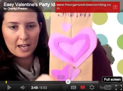 Easy Valentine's Party  Ideas | Seasonal Freebies for Teachers | Scoop.it