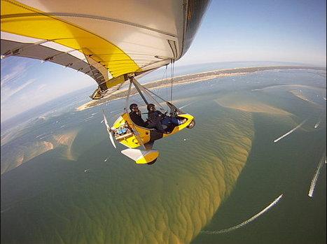 Voyage dans les airs au dessus du Bassin d'Arcachon - Août 2011 | Le Bassin d'Arcachon | Scoop.it