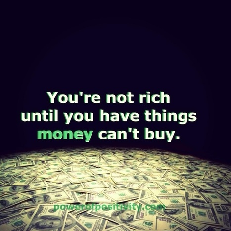 10 Things Money Can't Buy | IELTS, ESP, EAP and CALL | Scoop.it