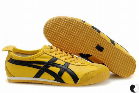 Asics Mexico 66 Yellow/Black Women's | my love list | Scoop.it