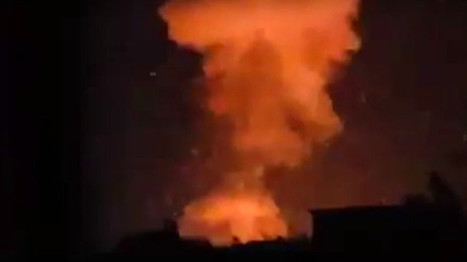 Huge blast rocks arms factory near Aleppo as ISIS, Al-Nusra shell city & attack Syria troops (VIDEO) | Saif al Islam | Scoop.it