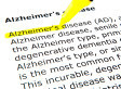 Alzheimer's disease can be detected 25 years in advance with new blood and spinal fluid tests | Mind Candy  { interdimensionally } Cubed... It's SO yesterday to be a Square | Scoop.it