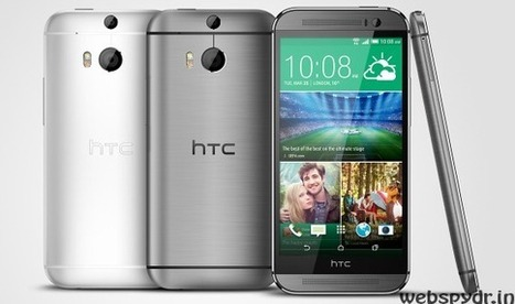 HTC One (M8) announced, start shipping in India from April | WebSpydr | Scoop.it