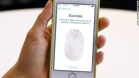 Give Apple your fingerprint? It's your call | Surveillance Society | Scoop.it