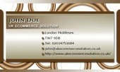 Business card template Honey | Cheap Business Cards | UK Ecommerce Software Solutions | Online Shopping cart | Scoop.it