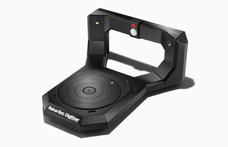 makerbot digitizer desktop 3D scanner shipping mid-october | Digital Design and Manufacturing | Scoop.it