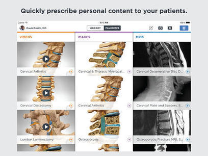 Mhealth startup deepens patient literacy app experience for medical professionals - MedCity News | MHealth | Scoop.it
