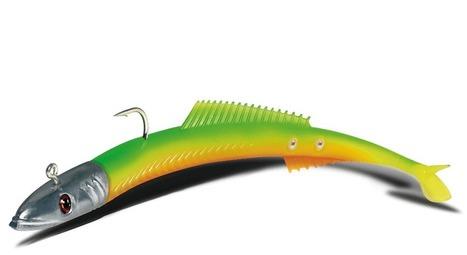 Delalande Fire eel un leurre souple pour la pêche en mer | La pêche | Scoop.it