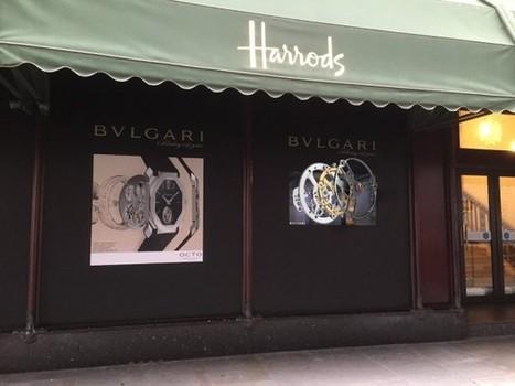 Royaume-Unis : Tridelity déploie un écran 3D sans lunette en façade d'Harrod's   Retail   Scoop.it