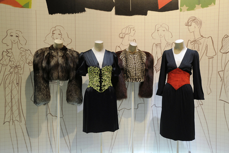 New Exhibition Spotlights Yves Saint Laurent's 1971 Collection | Vintage and Retro Style | Scoop.it