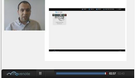 En la nube TIC: Graba tus clases con Movenote | Edu-Recursos 2.0 | Scoop.it