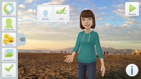 Tellagami | Aprender y educar | Scoop.it