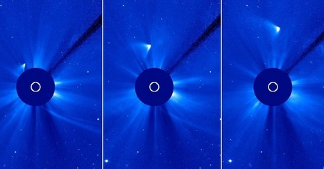 Comet ISON: Roasted by the Sun, Vanishes But Maybe Survived | I Can Do That! | Scoop.it