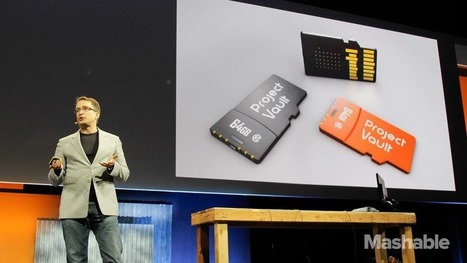 "Google's Project Vault is a secure computer stuffed into a microSD card | L'impresa ""mobile"" 