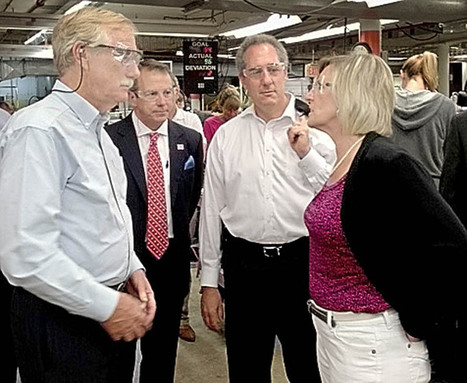 No promises as U.S. trade rep tours Norridgewock New Balance plant | The Kennebec Journal, Augusta, ME | AUSTERITY & OPPRESSION SUPPORTERS  VS THE PROGRESSION Of The REST OF US | Scoop.it