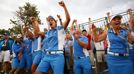 Youth is served, as Europe romps past U.S. at Solheim Cup | Globe Greens | Scoop.it