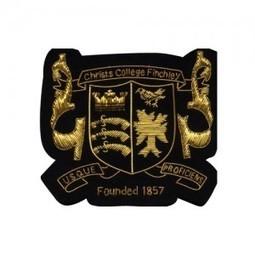 Christs College Finchley Gold Bullion Wire Blazer Badges | Blazer Badges | Scoop.it