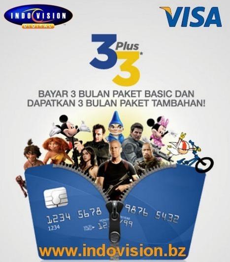 Promo Indovision Bersama Kartu Kredit Visa | Indovision Online Dealer | Scoop.it