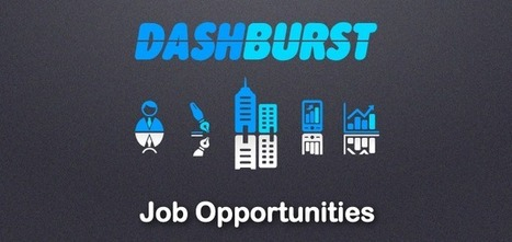 See All the New Job Opportunities at DashBurst in 2014 for Bloggers, Designers and More | Social Media, Marketing and Promotion | Scoop.it