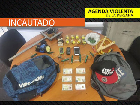 La Foto: Vea lo que encontraron en el morral de uno de los guarimberos que agredió a los GNB | Política para Dummies | Scoop.it