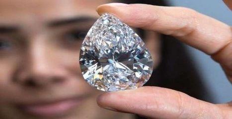 Swatch s'offre le plus gros diamant jamais mis aux enchères - Excite France | Minéraux,Gemmes et Géologie | Scoop.it