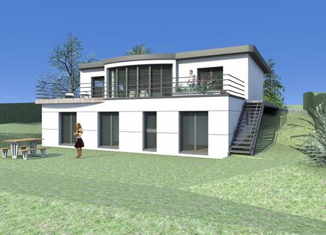 Toiture plate, choisissez un expert ! | Conseil construction de maison | Scoop.it