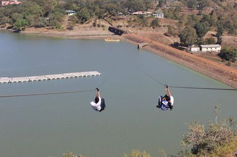 Zip line tour at Bhopal Kerwa Dam with FlyingFox .....book your ticket online here | Most Adventurous Aerial tour in India with Flying Fox | Scoop.it
