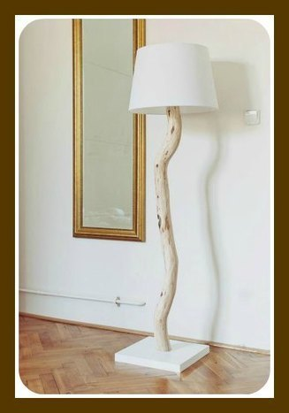DIY Tree Branch Lamp | Creative Cables and Lighting Design | Scoop.it