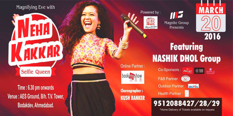 Enjoy Live Concert of Neha Kakkar & Nasik Dhol Group with Black Poison Tattoos   Black Poison Tattoos   Scoop.it